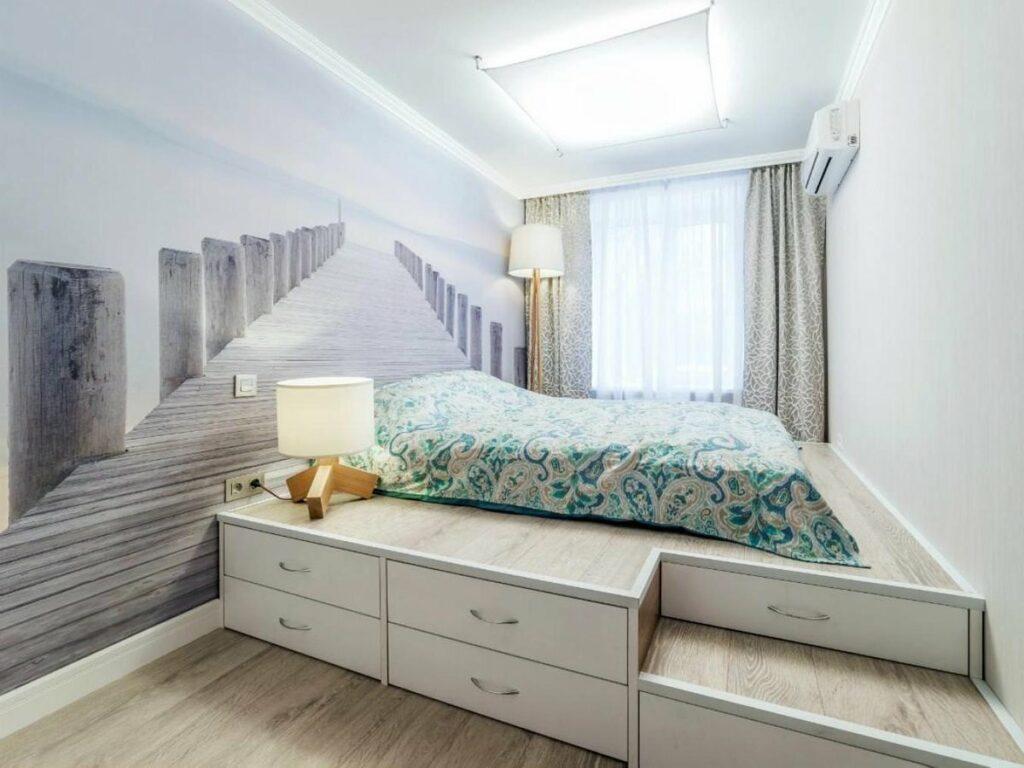 Кровать-подиум в Калининграде