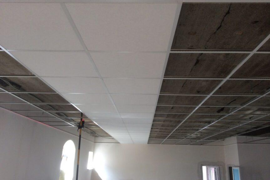 Подвесной потолок в Калининграде