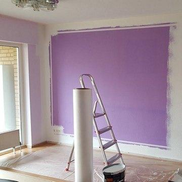 Покраска стен в Калининграде и области
